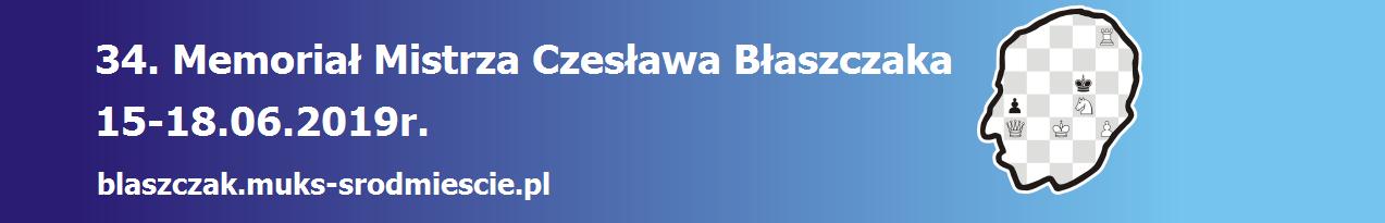 34 Memoriał Mistrza Czesława Błaszczaka